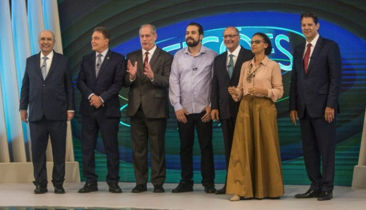 Candidatos a presidente do Brasill na TV Globo