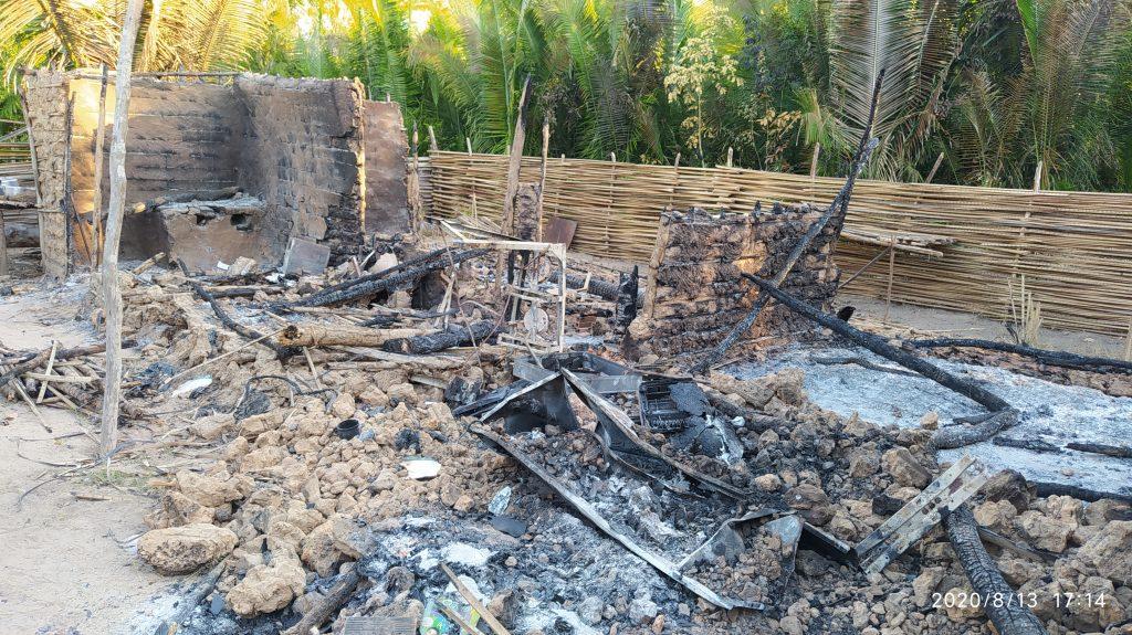 Família perde tudo em incêndio