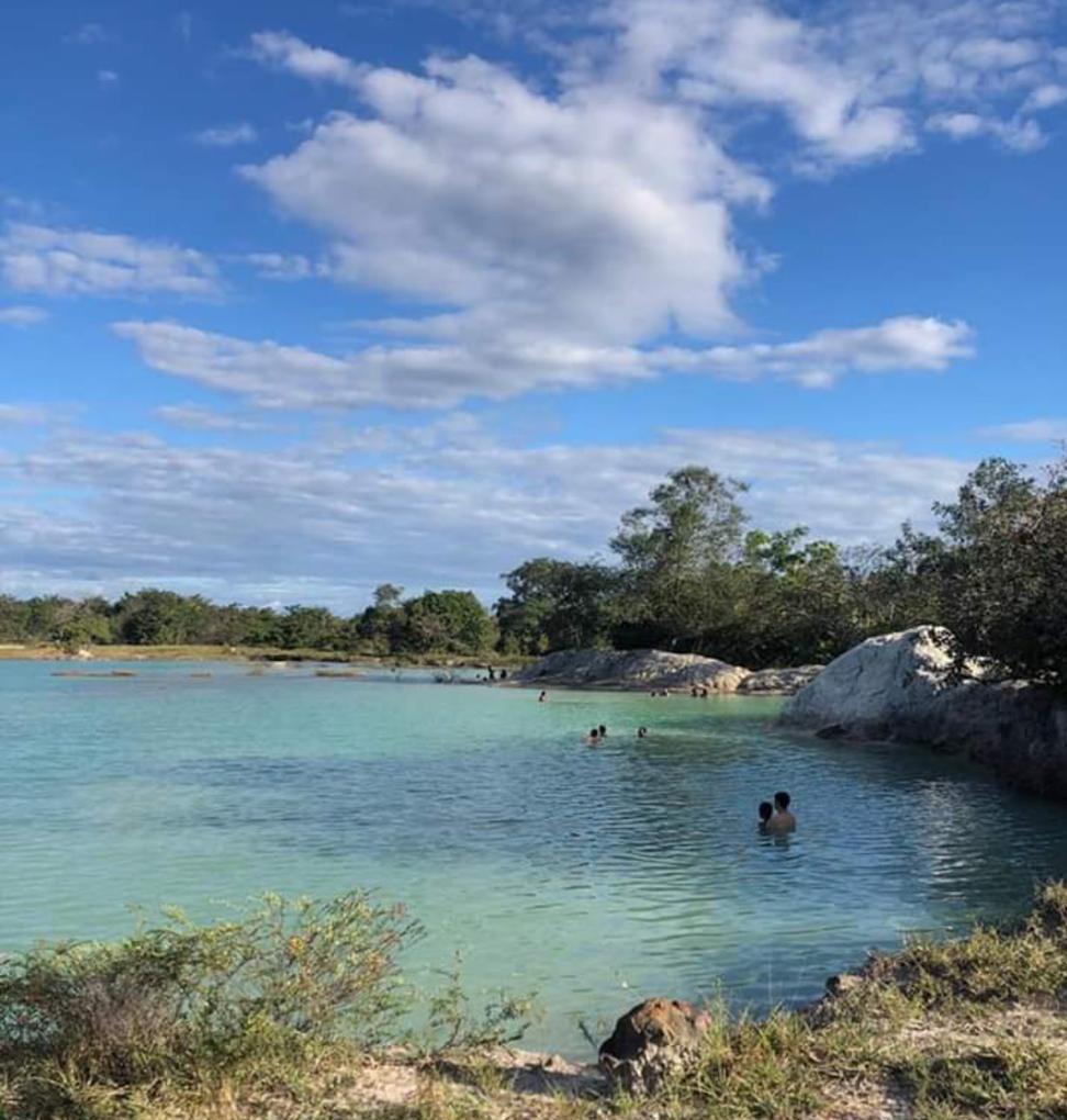 'Lagoa Azul' é o novo point de Barras