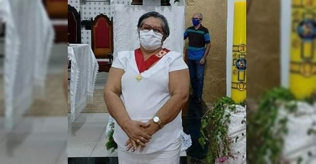 Chaguinha Borges, de 63 anos, faleceu de Covid-19 na cidade de São João do Piauí